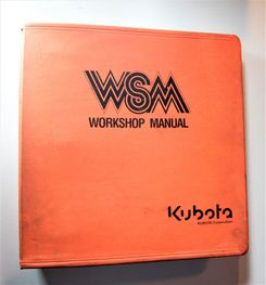 Kubota B1700 B2100 B2400 Workshop Manual