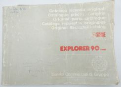 Same Explorer 90 turbo original parts catalogue
