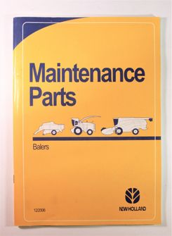 New Holland Balers Maintenance Parts BB930A BB940A BB950A BB960A BB920 BR560A BR560A Combi