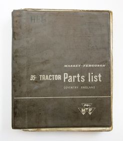 MF 35 Tractor Parts List