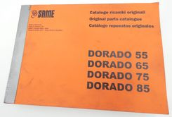 Same Dorado 55, 65, 75 and 85 original parts catalogue