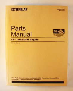 Caterpillar C11 Industrial Engine Parts Manual