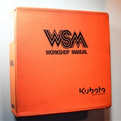 Kubota ST-30 Workshop Manual