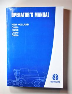 New Holland CS520 CS540 CS640 CS660 Operators manual