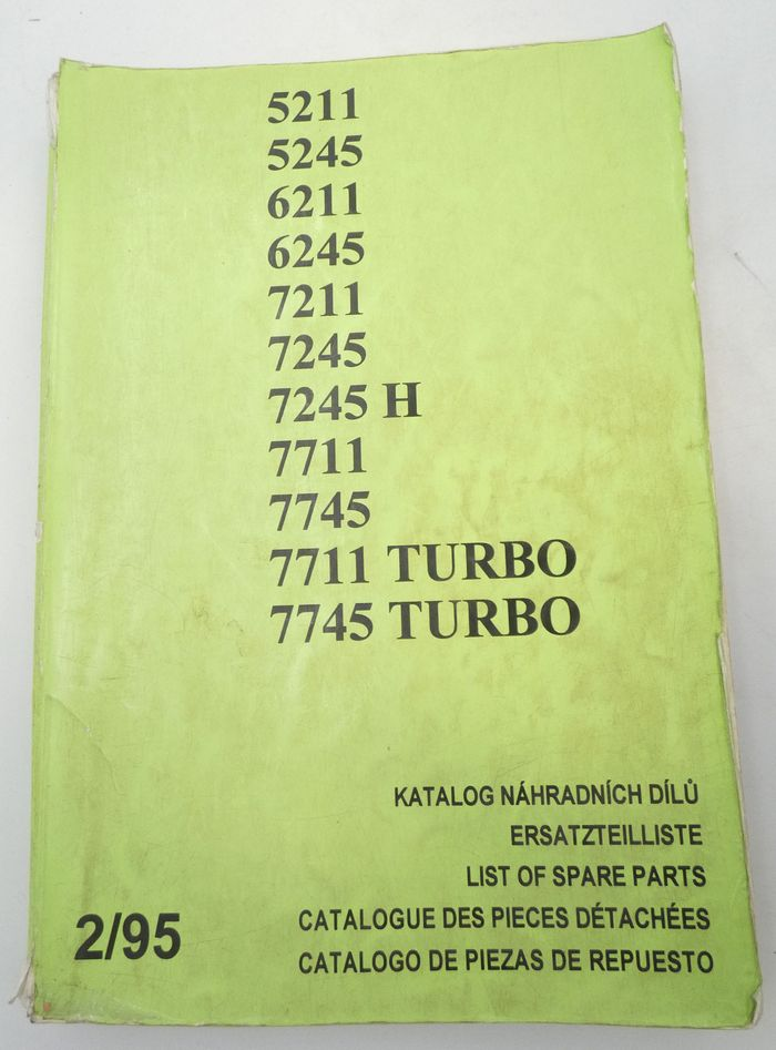 Zetor 5211, 5245, 6211, 6245, 7211, 7245, 7245 H, 7711, 7745, 7711 turbo list of spare parts