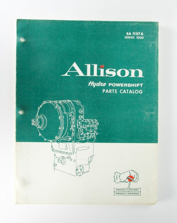 Allison Hydro Powershift Parts Catalog