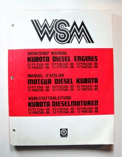 Kubota Diesel Engines Workshop Manual