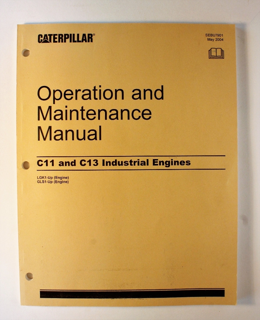 Caterpillar C11 and C13 Industrial Engines Operation and Maintenance