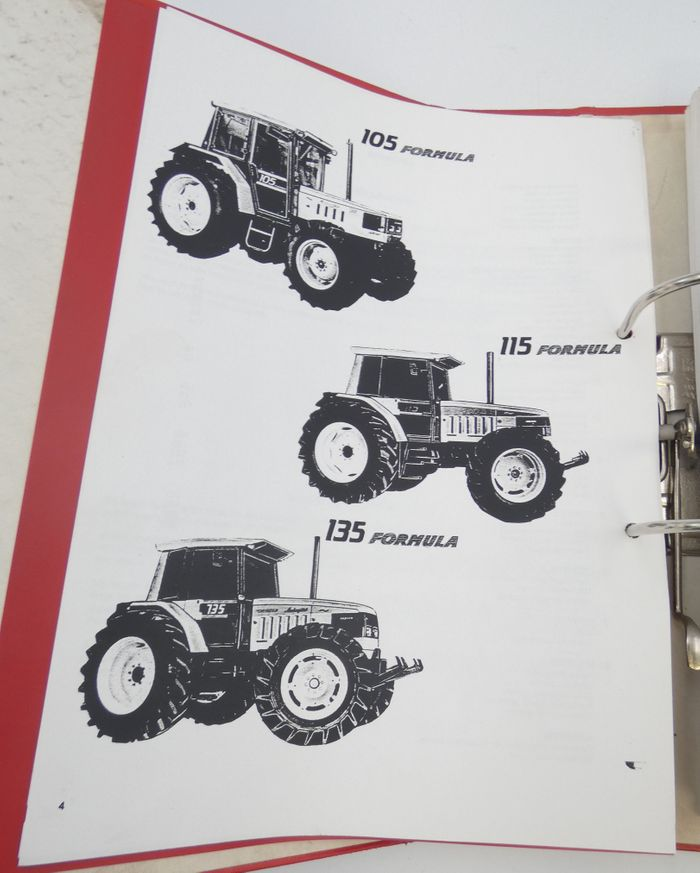 Lamborghini 105 Formula, 115 formula, 135 formula workshop manual