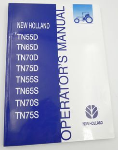 New Holland TN55D, TN65D, TN70D, TN75D, TN55S, TN65S, TN70S and TN75S operator's manual