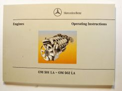 Mercedes-Benz OM 501 LA - OM 502 LA Operating Instructions