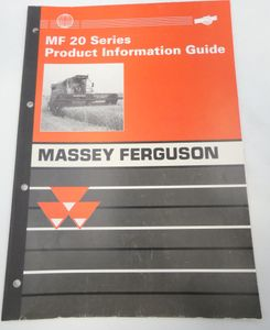 Massey-Ferguson MF20 series product information guide