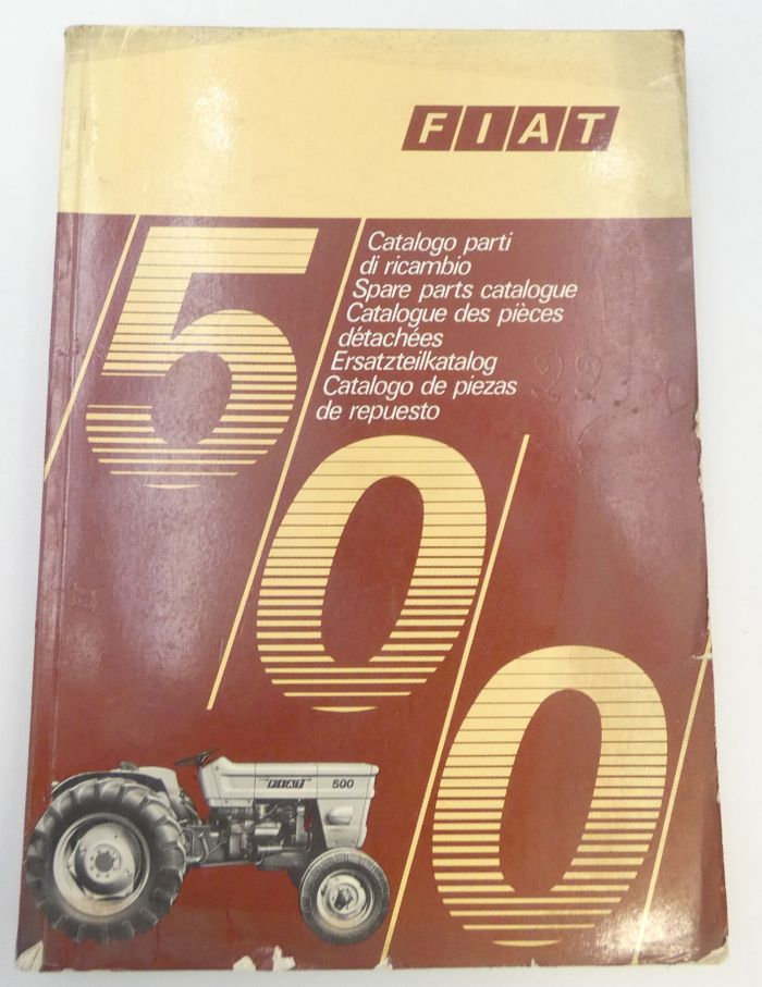 Fiat 500 spare parts catalogue