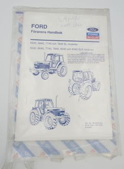 Ford New Holland förarens handbok