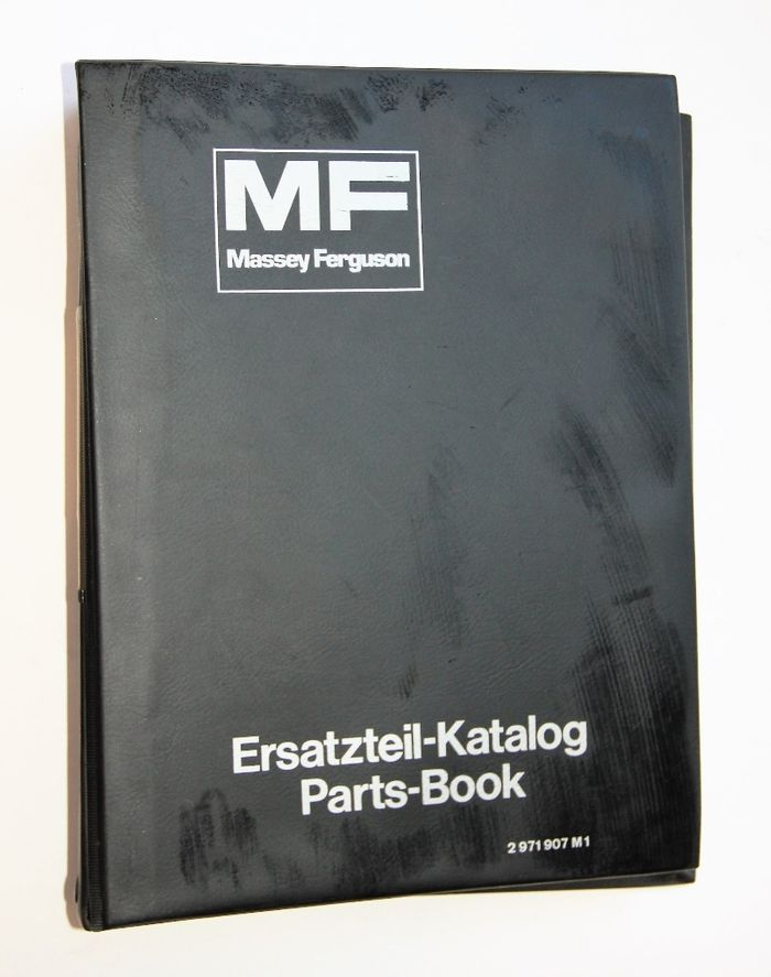 MF 50B Digger Loader - Parts Book