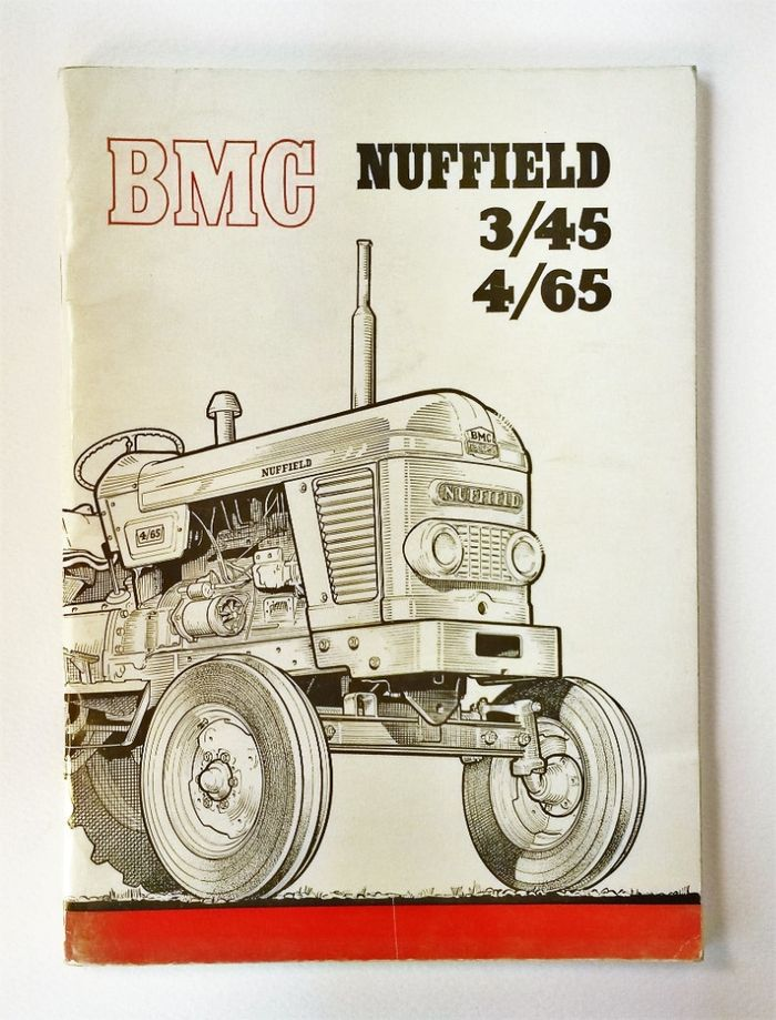 Nuffield 3/45 and 4/65 Handbook