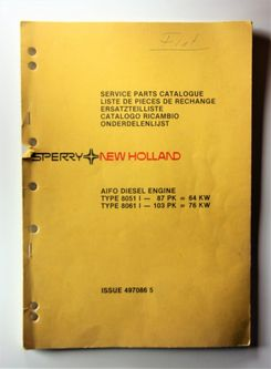 New Holland Aifo Diesel Engine 64kw ja 76kw Service Parts Catalogue