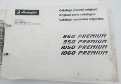 Lamborghini 850, 950, 1050, 1060 Premium original parts catalogue