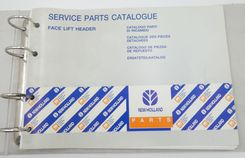New Holland face lift header service parts catalogue