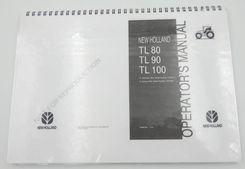 New Holland Tl80, Tl90 and TL100 operator's manual