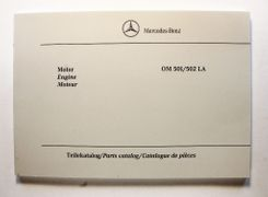 Mercedes-Benz OM 501/502 LA Parts Catalog
