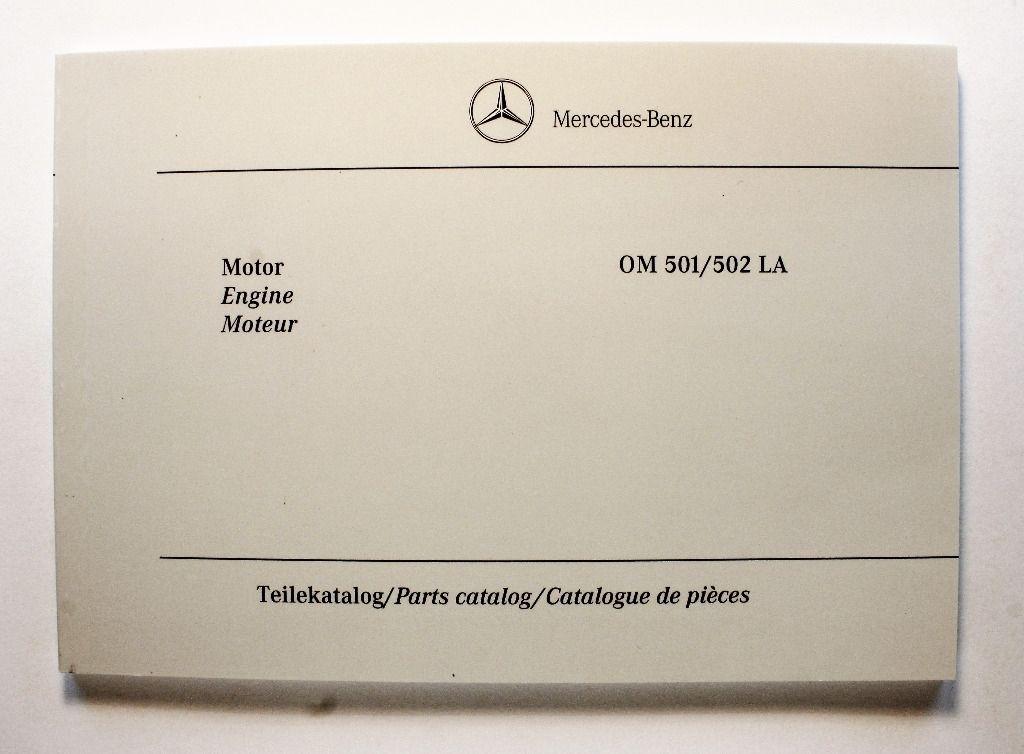 Mercedes Benz Parts Catalog >> Mercedes Benz Om 501 502 La Parts Catalog