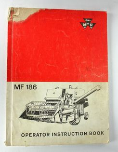 MF 186 Operator Instruction Book