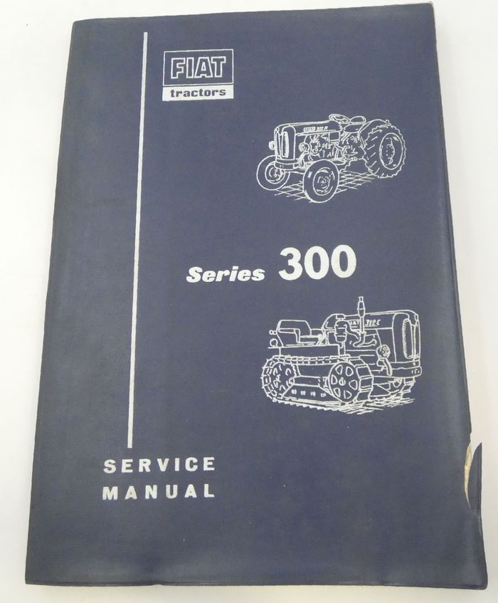 Fiat series 300 service manual