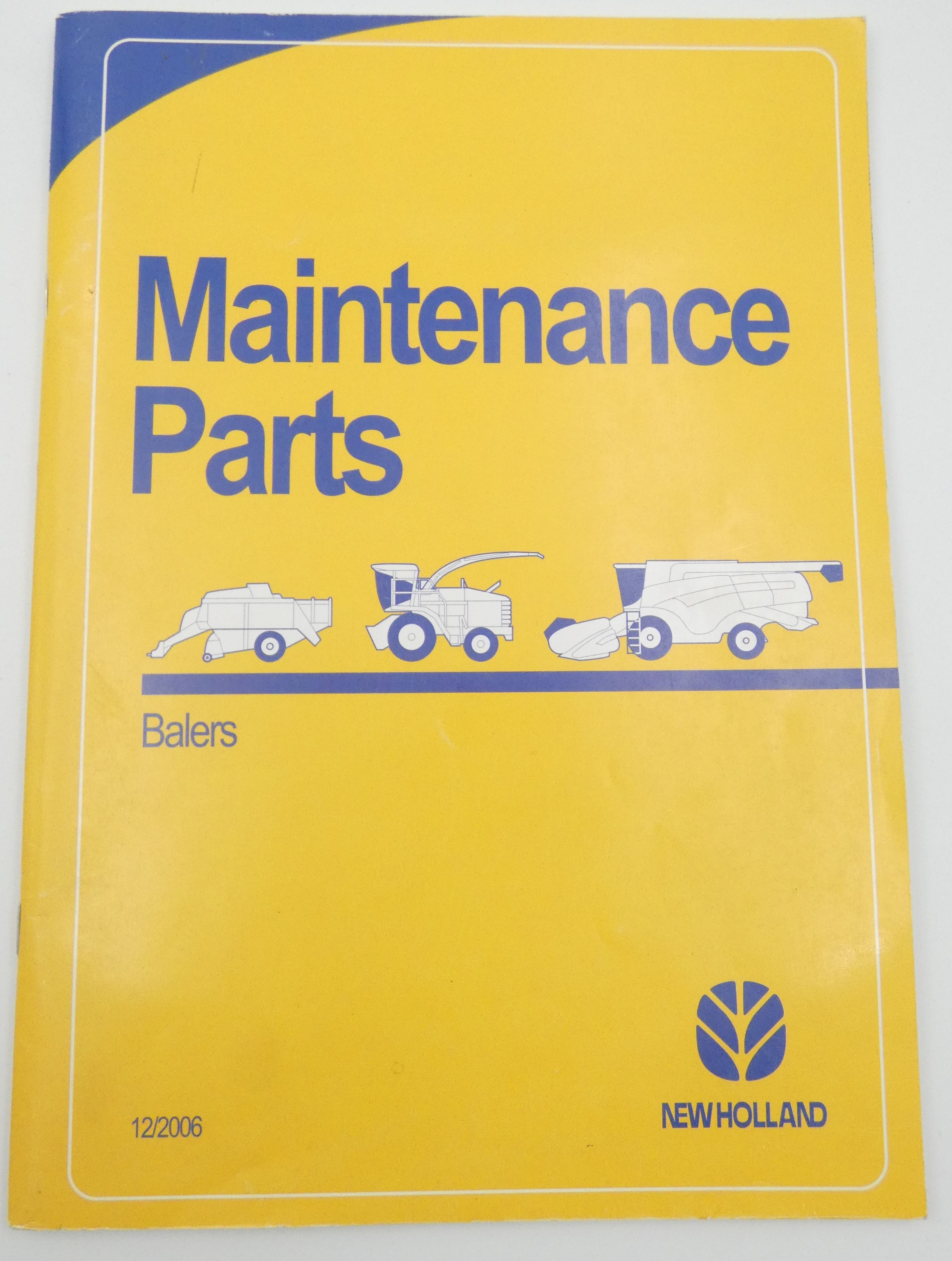 New Holland balers maintenance parts