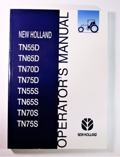 New Holland TN55D TN65D TN70D TN75D TN55S TN65S TN70S TN75S Operator´s Manual