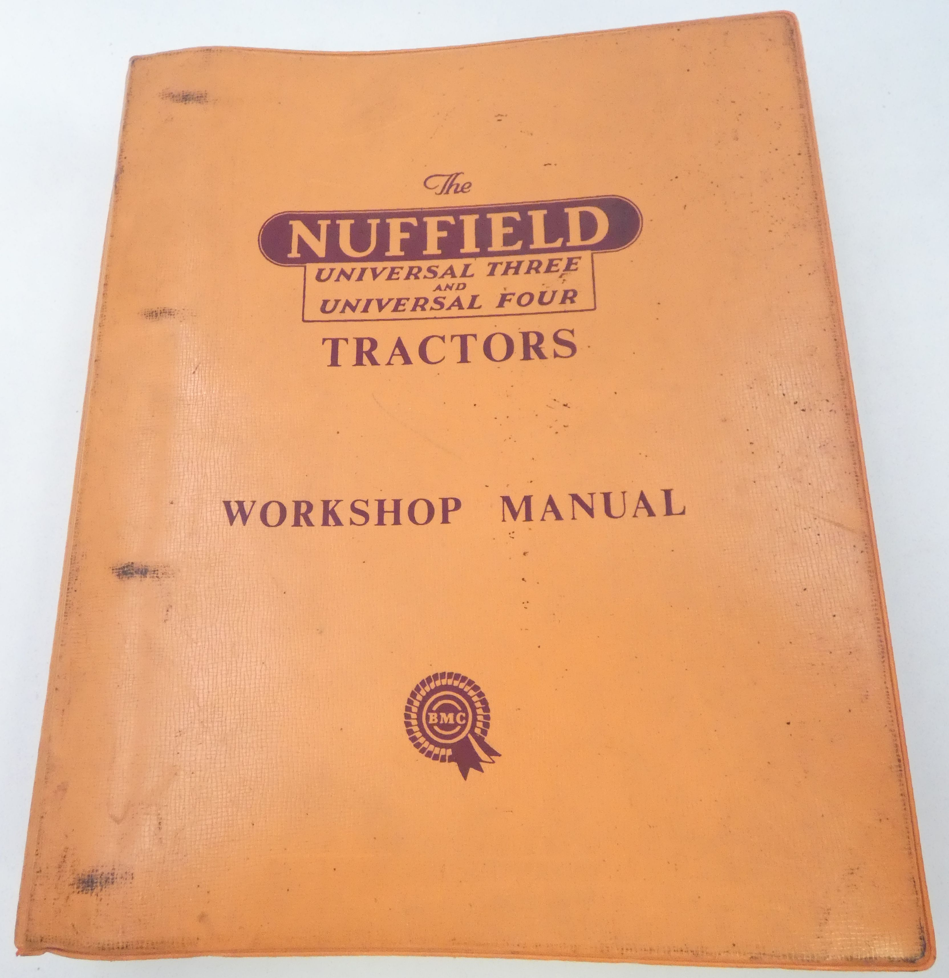 The Nuffield Universal three and four tractors workshop manual