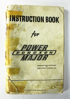 Fordson Power Major Instruction Book