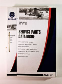 New Holland TC32 TC54 TC56 Straw Chopper Service Parts Catalogue