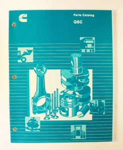 Cummins type QSC Parts Catalog